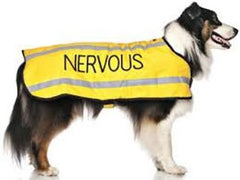 Nervous Dog Coat