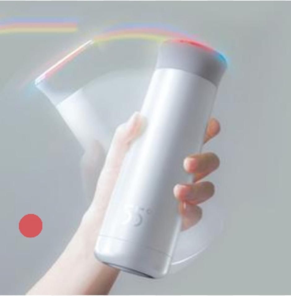200ml smart cooling thermos travel water bottle/hydro flask