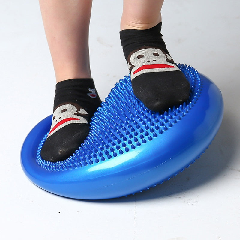 Massage ball pad sensory ankle workout