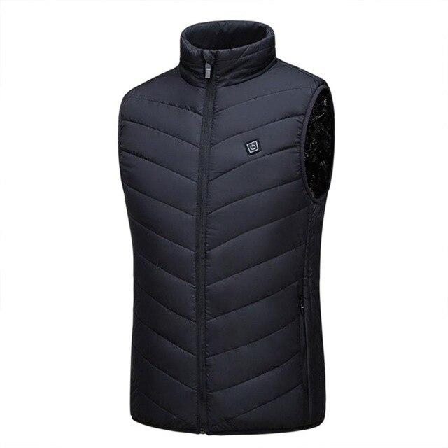 Men's heated USB jacket