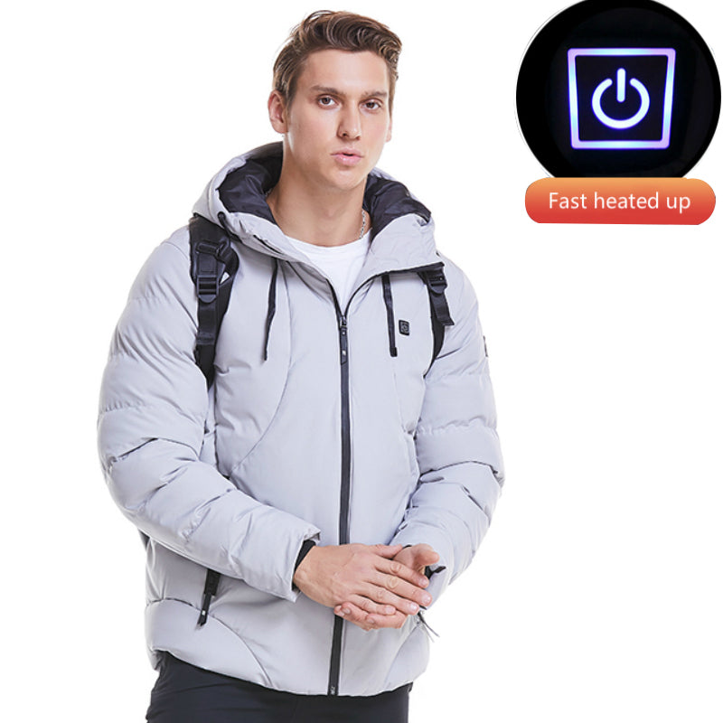 Men's electric outdoor heated jacket