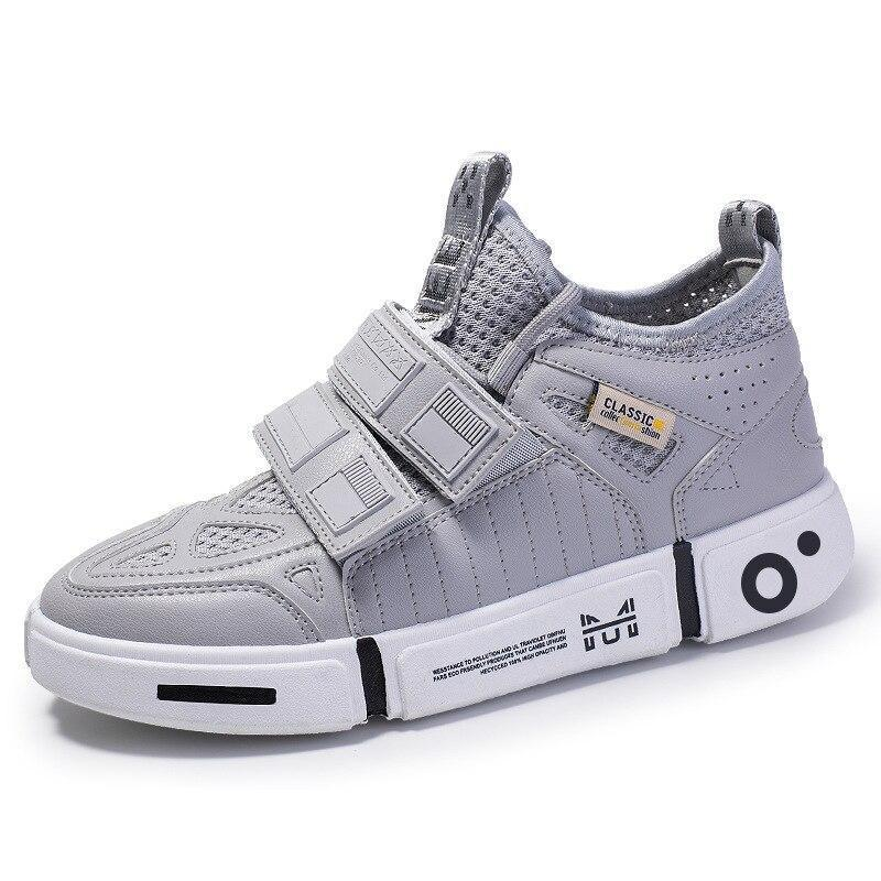 Comfortable unisex leather sports sneakers