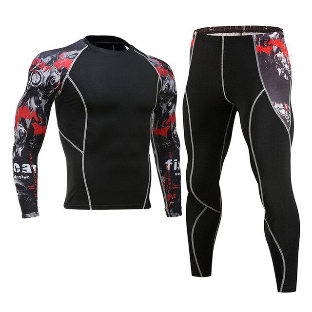Men's thermal underwear riding apparel
