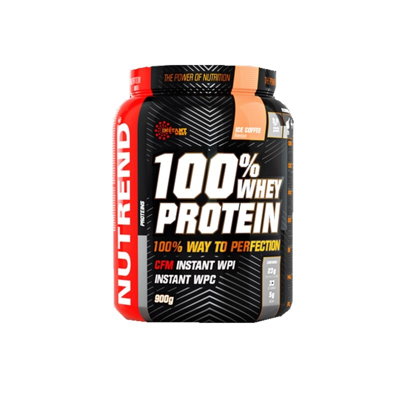 100% Whey protein powder nutrition supplement