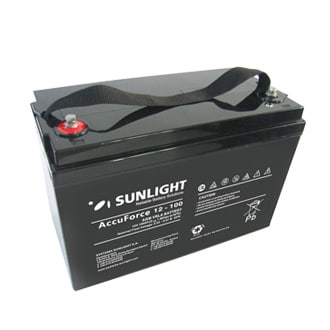 Batterie AGM 12V AccuForce – Sunlight