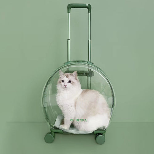 Vetreska Pet Carrier Bubble Suitcase