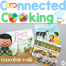 Load image into Gallery viewer, Connected Cooking Chocolate Milk Unit | Interactive Read Aloud, Visual Recipe