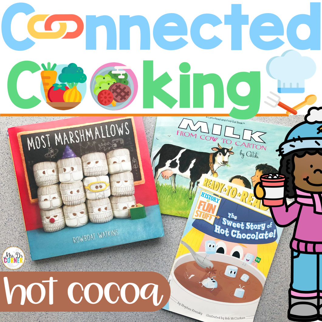 Connected Cooking Hot Cocoa Unit | Interactive Read Aloud, Visual Recipe + More!