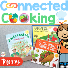 Load image into Gallery viewer, Connected Cooking Tacos Unit | Interactive Read Aloud, Visual Recipe + More!