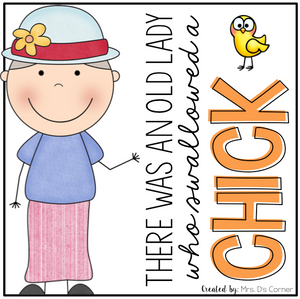 Old Lady Swallowed a Chick Book Companion
