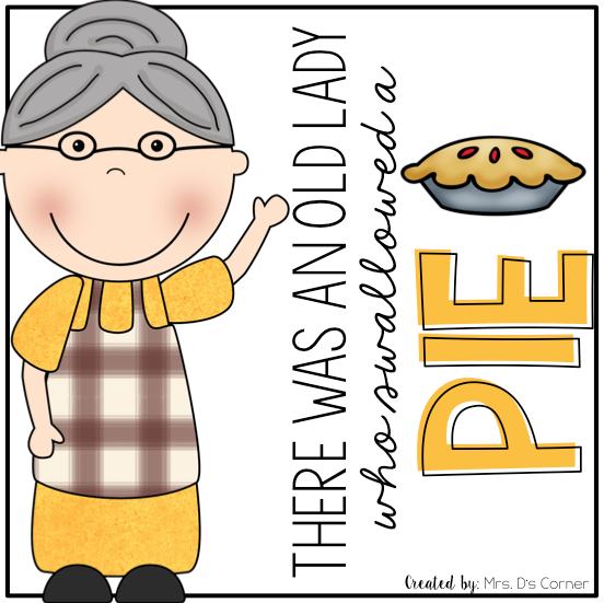 Old Lady Swallowed a Pie Book Companion