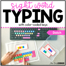 Load image into Gallery viewer, Dolch Sight Word Keyboarding | Sight Word Activities | Typing Practice