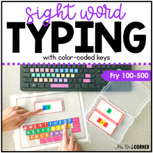 Load image into Gallery viewer, Fry First 500 Sight Word Keyboarding | Sight Word Activities | Typing Practice