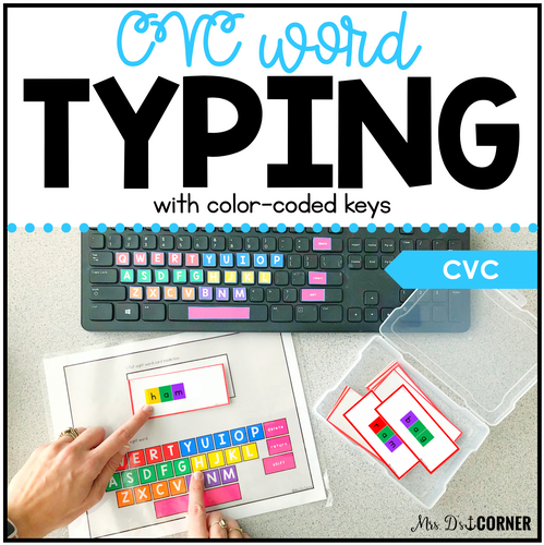 CVC Word Keyboarding | Sight Word Activities | Typing Practice
