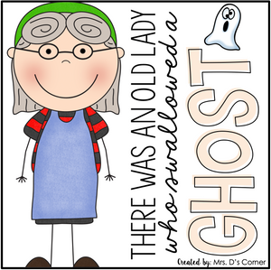 Old Lady Swallowed a Ghost Book Companion [4 different activities!]