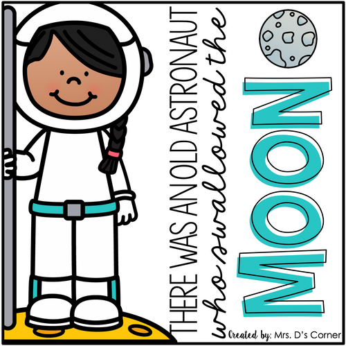 Old Astronaut Swallowed the Moon Book Companion [4 different activities!]