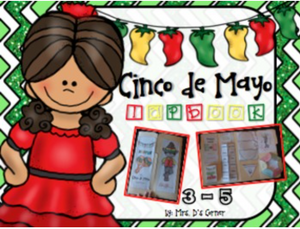 Cinco de Mayo Lapbook | Grades 3 - 5 [8 foldables]