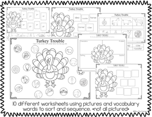 Turkey Trouble Book Companion