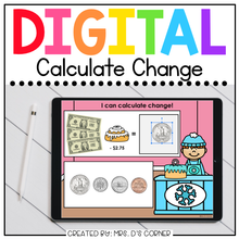 Load image into Gallery viewer, Calculating Change in Winter Digital Activity | Distance Learning