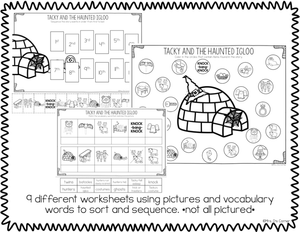 Tacky and the Haunted Igloo Book Companion