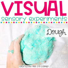Load image into Gallery viewer, Visual Sensory Experiments [BUNDLE of 9 Sensory Activities]