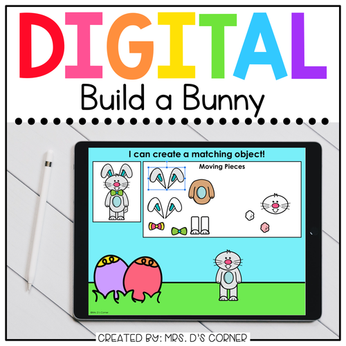 Build a Bunny Digital Activity | Distance Learning