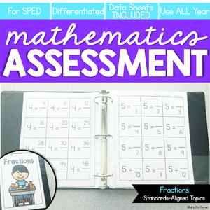 Fractions Math Assessment