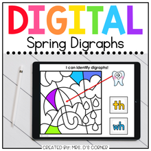 Load image into Gallery viewer, Spring Digraph Sorting Digital Activity | Distance Learning