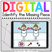 Load image into Gallery viewer, Winter What's Missing Digital Activity | Distance Learning