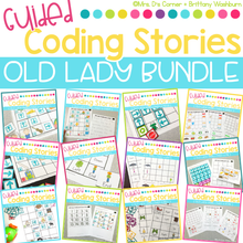 Load image into Gallery viewer, Guided Coding Stories | Old Lady BUNDLE