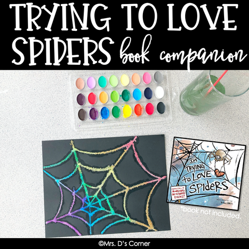 Trying to Love Spiders Book Companion [ Craft, Writing, Graphing, and more! ]
