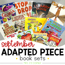 Load image into Gallery viewer, September Adapted Piece Book Set [ 12 book sets included! ]