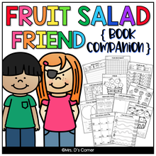 Load image into Gallery viewer, Fruit Salad Friend Book Companion [ Craft, Writing, and Visual Recipe! ]