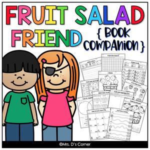 Fruit Salad Friend Book Companion [ Craft, Writing, and Visual Recipe! ]