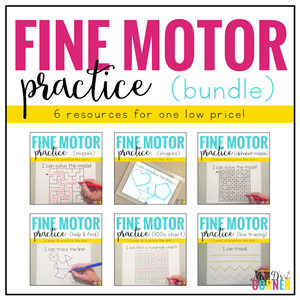 Fine Motor Skills Practice BUNDLE (6 resources included!)