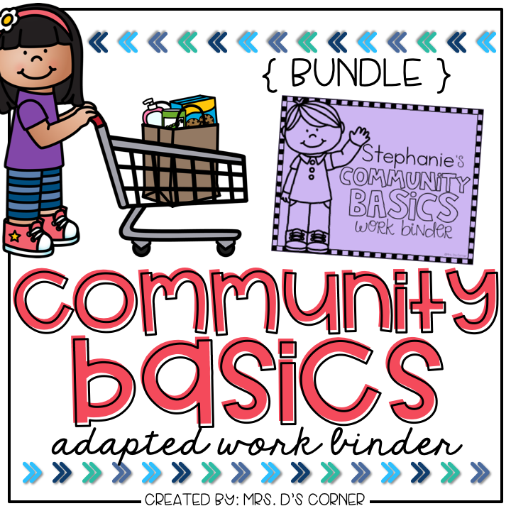 Community Basics Adapted Work Binder® { BUNDLE }