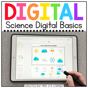 Science Digital Basics for Special Ed | Distance Learning