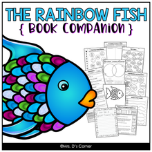 Load image into Gallery viewer, Rainbow Fish Book Companion [ Craft, Experiment, Writing and more! ]