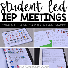 Load image into Gallery viewer, Student Led IEP Meeting Toolkit | Student Led Conferences
