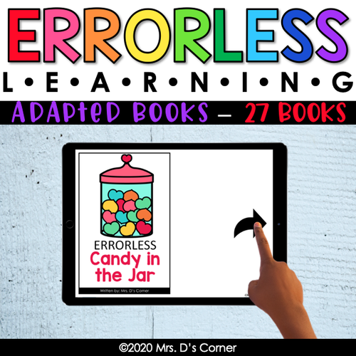 Bundle 2: Errorless Learning Adapted Books (27 books!) | Errorless Adapted Book