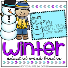 Load image into Gallery viewer, Winter Adapted Work Binder®