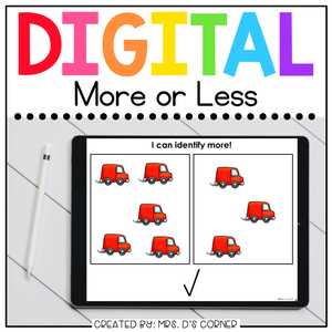 More or Less Digital Basics for Special Ed | Distance Learning