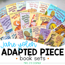 Load image into Gallery viewer, How Do Dinosaurs... Adapted Piece Book Set [21 book sets included!] Jane Yolen