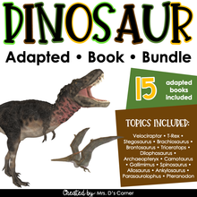 Load image into Gallery viewer, Dinosaur Adapted Book Bundle - 15 Species Included! | Dinosaur Books