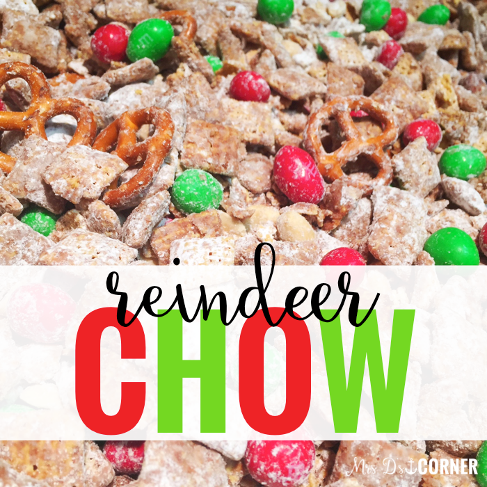 Visual Recipe for Reindeer Chow