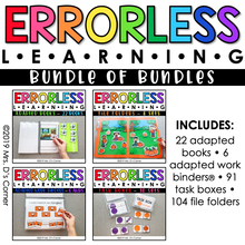 Load image into Gallery viewer, Bundle of Errorless Learning Bundles | Over 200+ Activities Included