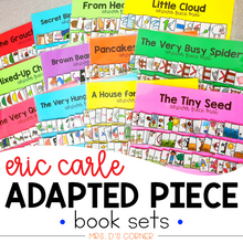 Load image into Gallery viewer, Eric Carle Adapted Piece Book Set [ 12 book sets included! ]