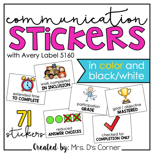 Communication Stickers | Progress Monitoring Stickers [from Teachers to Parents"|500|500|?|8bd7c2c73c927eda1067dc651a3cc599|False|UNLIKELY|0.3852691948413849