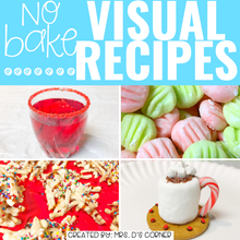Load image into Gallery viewer, December Visual Recipes with REAL Pictures for Cooking in the Classroom