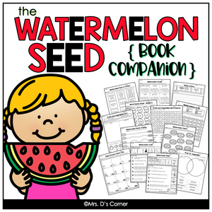 The Watermelon Seed Book Companion and Lesson Plans